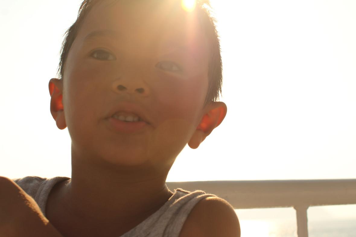 Takuma, a 6 year old man.